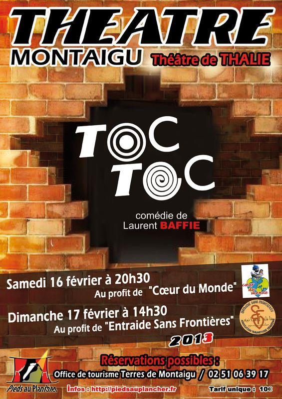 Affiche TOC TOC 2013